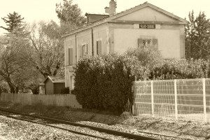 La gare de Velaux