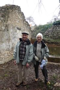 Aline et Louis Baldo au lavoir