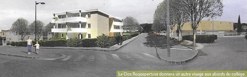 Clos Roquepertuse projet