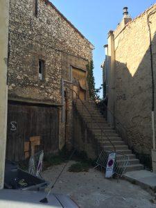 L'ancien moulin à l'huile à l'abandon