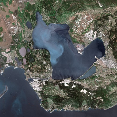Pollution de l'étang de berre