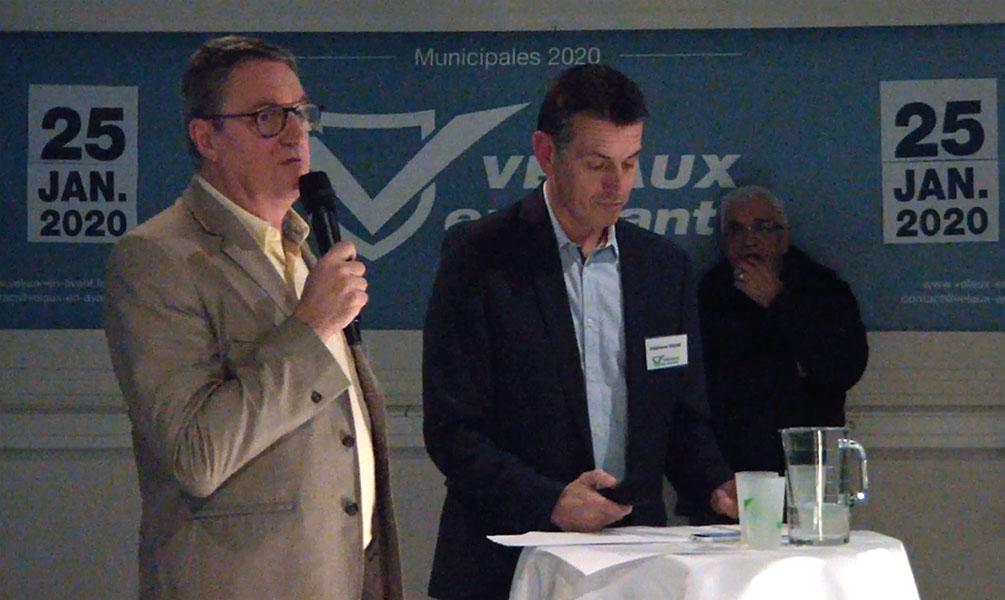 Réunion publique Velaux en Avant François ÉTÉ
